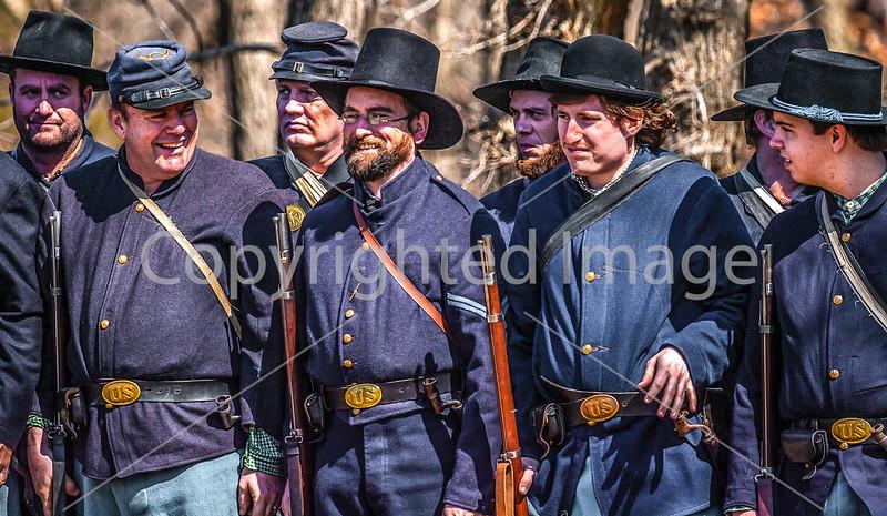 Pea Ridge Nat'l Military Park, Arkansas -- battle anniversary encampment-____0195-Edit - C4 - 72 ppi