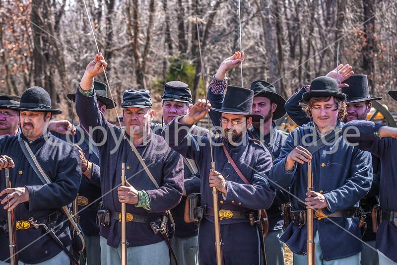 Pea Ridge Nat'l Military Park, Arkansas -- battle anniversary encampment-____0070-Edit - C4 - 72 ppi