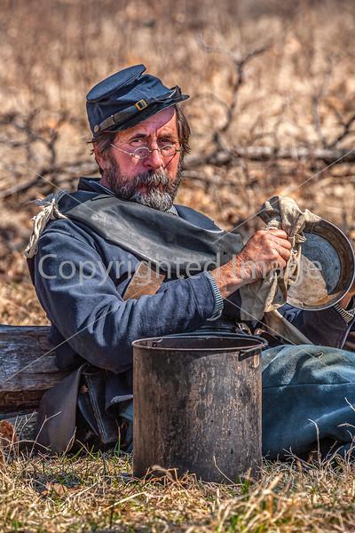 Pea Ridge Nat'l Military Park, Arkansas -- battle anniversary encampment-C4-____0307-Edit - 72 ppi