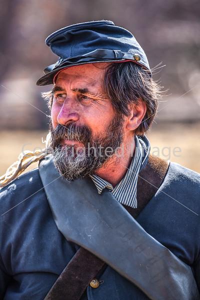 Pea Ridge Nat'l Military Park, Arkansas -- battle anniversary encampment-____0060-Edit - C4 - 72 ppi
