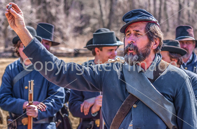 Pea Ridge Nat'l Military Park, Arkansas -- battle anniversary encampment-____0143-Edit - C4 - 72 ppi