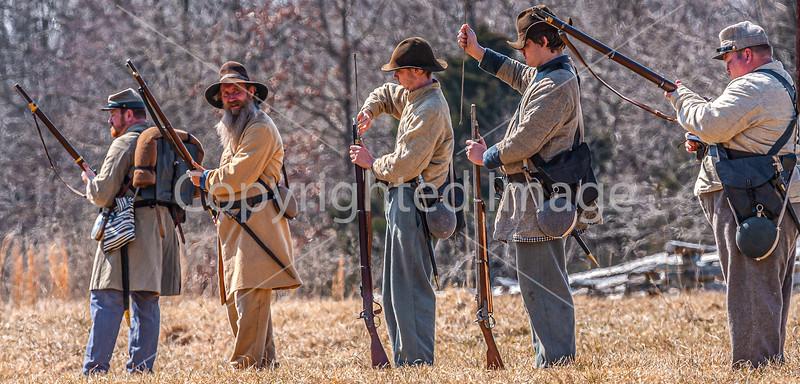 Pea Ridge Nat'l Military Park, Arkansas -- battle anniversary encampment-C4-____0315-Edit - 72 ppi