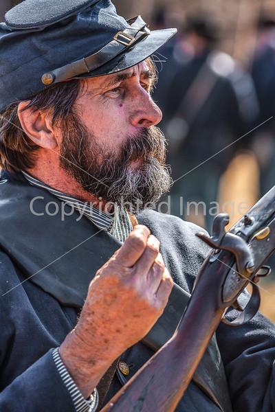 Pea Ridge Nat'l Military Park, Arkansas -- battle anniversary encampment-____0079-Edit - C4 - 72 ppi