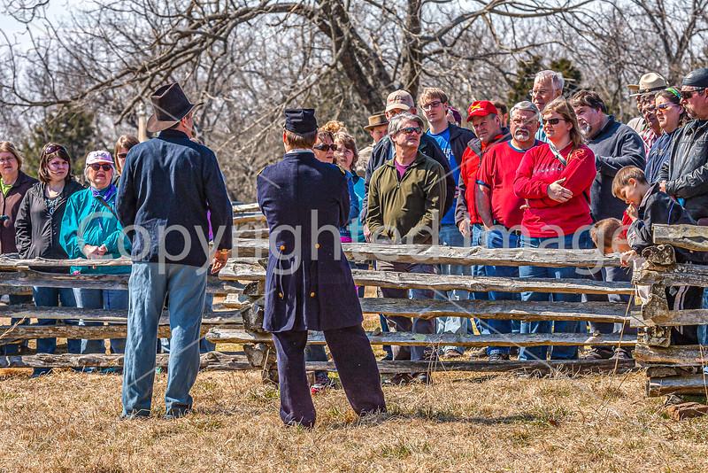 Pea Ridge Nat'l Military Park, Arkansas -- battle anniversary encampment-C4-____0251-Edit - 72 ppi