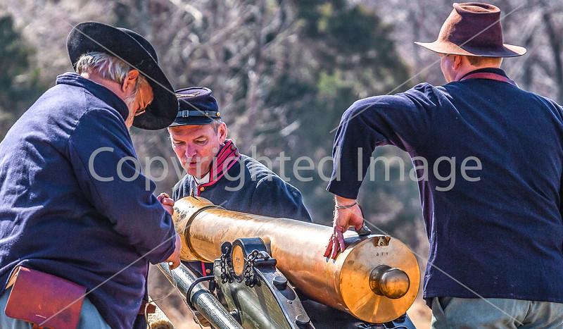 Pea Ridge Nat'l Military Park, Arkansas -- battle anniversary encampment-____0232-Edit - C4 - 72 ppi