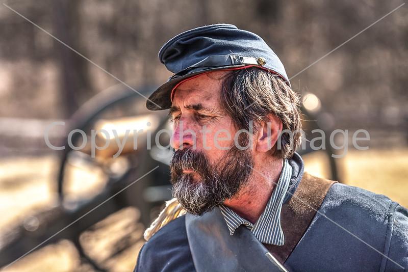 Pea Ridge Nat'l Military Park, Arkansas -- battle anniversary encampment-____0125-Edit - C4 - 72 ppi