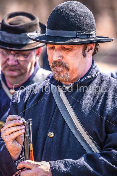 Pea Ridge Nat'l Military Park, Arkansas -- battle anniversary encampment-____0065-Edit - C4 - 72 ppi