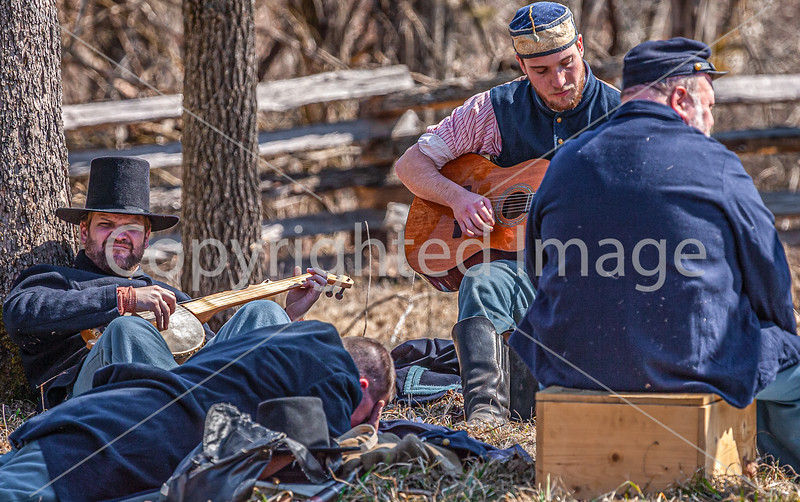 Pea Ridge Nat'l Military Park, Arkansas -- battle anniversary encampment-C4-____0294-Edit - 72 ppi-2
