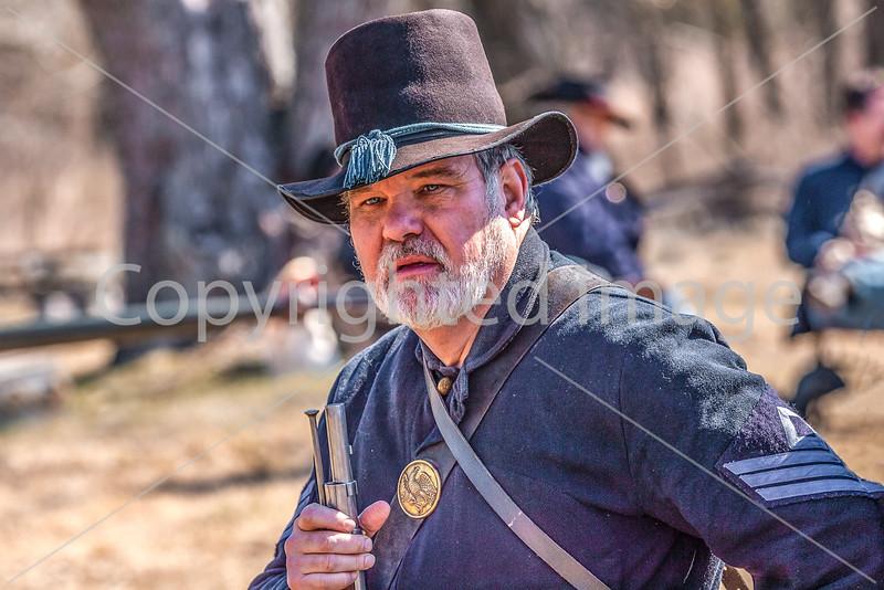 Pea Ridge Nat'l Military Park, Arkansas -- battle anniversary encampment-____0135-Edit - C4 - 72 ppi