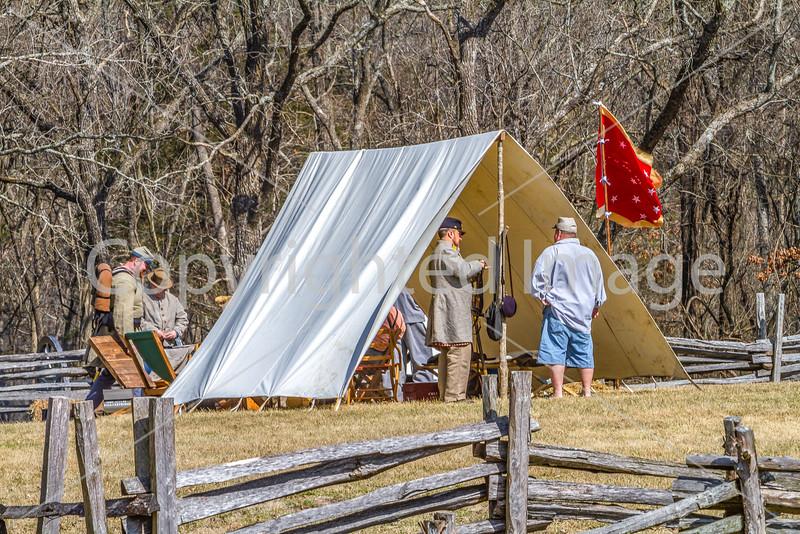 Pea Ridge Nat'l Military Park, Arkansas -- battle anniversary encampment - C1_MG_0088-Edit- 72 ppi