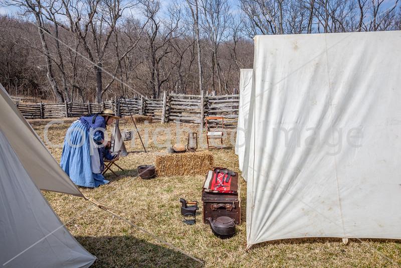 Pea Ridge Nat'l Military Park, Arkansas -- battle anniversary encampment_MG_0100-Edit - 72 ppi