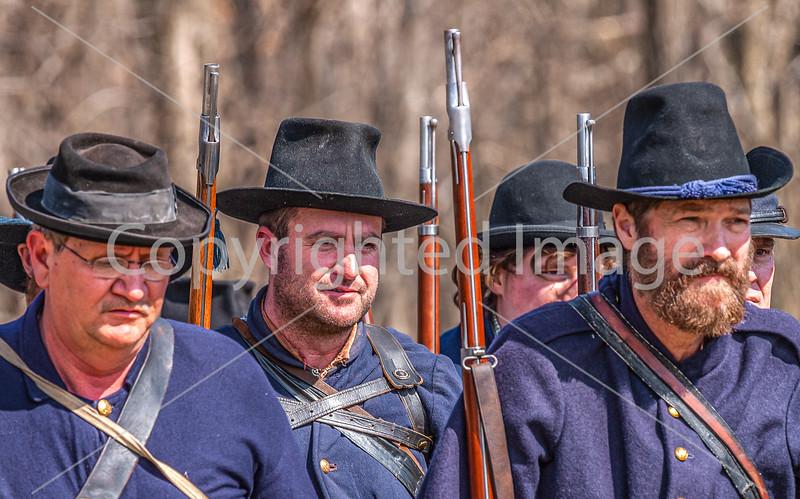 Pea Ridge Nat'l Military Park, Arkansas -- battle anniversary encampment-C4-____0401-Edit - 72 ppi
