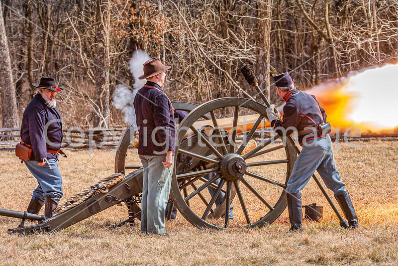 Pea Ridge Nat'l Military Park, Arkansas -- battle anniversary encampment-C4-____0562-Edit - 72 ppi