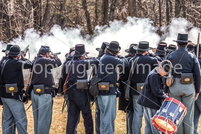 Pea Ridge Nat'l Military Park, Arkansas -- battle anniversary encampment-____0088-Edit - C4 - 72 ppi