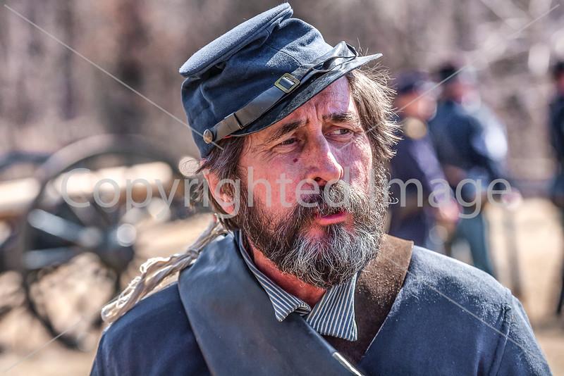 Pea Ridge Nat'l Military Park, Arkansas -- battle anniversary encampment-____0113-Edit - C4 - 72 ppi