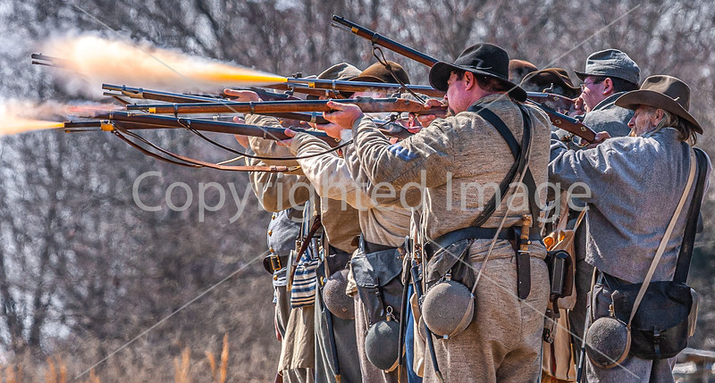 Pea Ridge Nat'l Military Park, Arkansas -- battle anniversary encampment-C4-____0355-Edit - 72 ppi-3