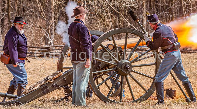 Pea Ridge Nat'l Military Park, Arkansas -- battle anniversary encampment-C4-____0562-Edit - 72 ppi-2