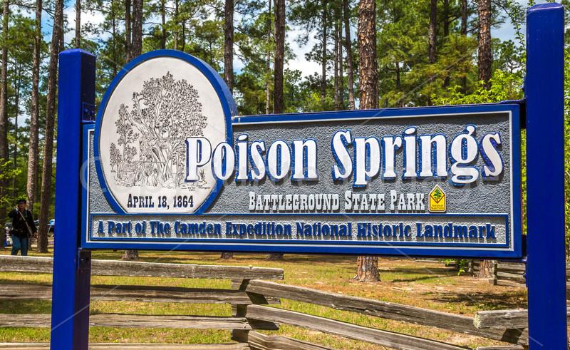 Poison Springs & Camden, Arkansas - 150th Anniversary - C3 -0090 - 72 ppi