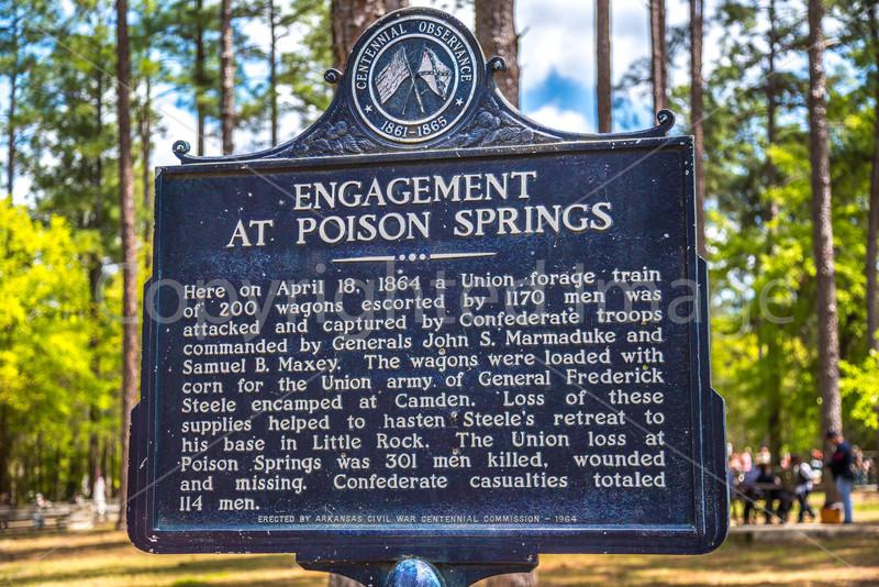 Poison Springs & Camden, Arkansas - 150th Anniversary - C3 -0100 - 72 ppi