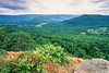 View Boston Mountains from overlook south of Harrison, Arkansas - 5 - 72 ppi