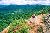 Rider at overlook in the Ouachita Mounains near Ola, Arkansas, on edge of Ouachita National Forest - 3 - 72 ppi