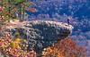 Biker at Hawksbill Crag, northwest Arkansas, Upper Buffalo Wilderness Area, 1 5-mile hike in from gravel road - 61 - 72 ppi-2