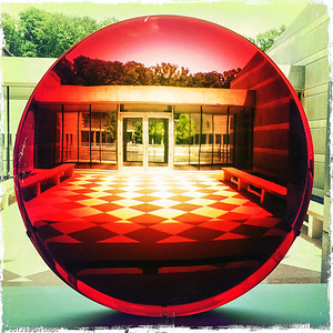 Big Red Lens - Frederick Eversley