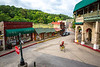 Cyclist in Eureka Springs, Arkansas - C3-30158 - 72 ppi