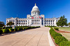 The Arkansas State Capitol building in Little Rock, Arkansas, USA.