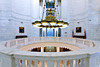 Interior of the Arkansas State Capitol building in Little Rock, Arkansas.