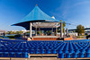 The outdoor ampitheater in Riverfront Park in downtown Little rock, Arkansas, USA.