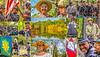 Postcard - Battle of Poison Springs near Camden, Arkansas - 72 ppi