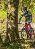 Mountain biker(s) on Razorback Greenway heading to Slaughter Pen Trails near Bentonville, AR_W7A0742-Edit - 72 ppi