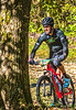 Mountain biker(s) on Razorback Greenway heading to Slaughter Pen Trails near Bentonville, AR_W7A0742-Edit - 72 ppi-2
