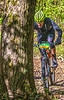 Mountain biker(s) on Razorback Greenway heading to Slaughter Pen Trails near Bentonville, AR_W7A0734-Edit - 72 ppi-2