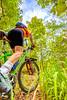 Mountain biker on Womble Trail near AR 298 Trailhead - C2_D5A2070-Edit-Edit - 72 ppi