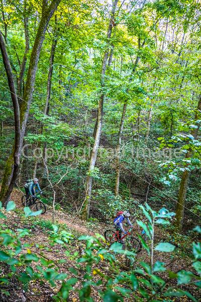 Mountain biker(s) on Slaughter Pen Trails near Bentonville, AR - _W7A0466-Edit - 72 ppi