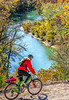 Biker high above Buffalo River north of Jasper_W7A0081-Edit - 72 ppi-2