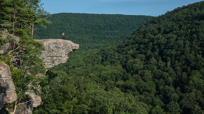 The Hawksbill Crag at Whitaker Point, Arkansas