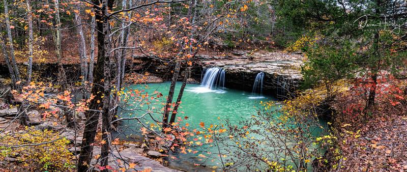 Falling Water Falls pano