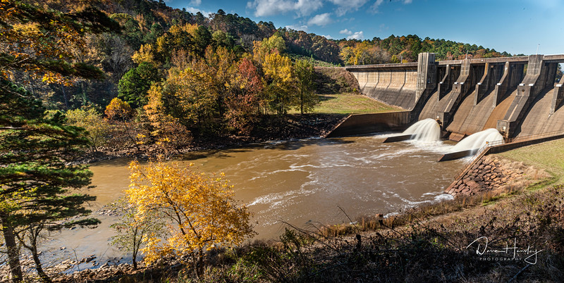 Nimrod Dam Spillway