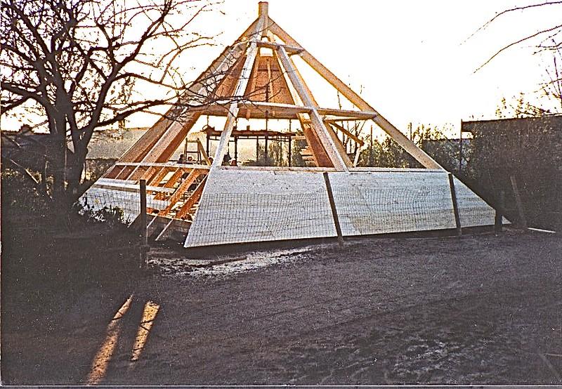 Pyramiden. Naturværksted, SFO Fuglsanggårdskolen, Virum.
