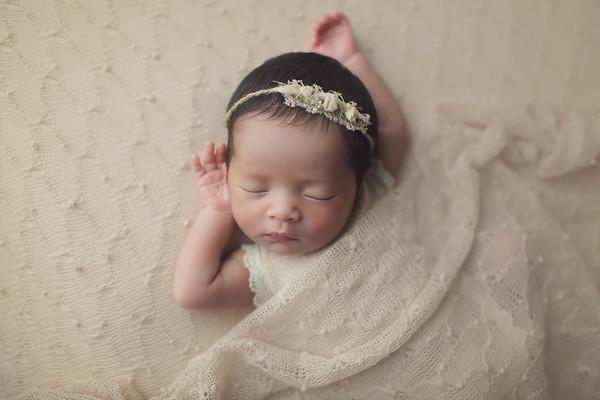 arleigh jae newborn mini