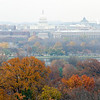 View of the U.S. Capitol and Washington DC skyline from Arlington National Cemetery.