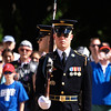 Changing of the guard, Arlington National Cemetery,  Memorial Day weekend, 2009