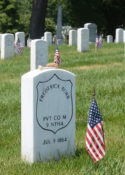 Arlington National Cemetery Memorial Day 2012