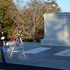 Changing of the honor guard,  Arlington National Cemetery Veterans Day