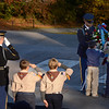 Scouts lay a wreath,  Arlington National Cemetery Veterans Day