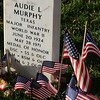 Audie Murphy grave,  Arlington National Cemetery Veterans Day