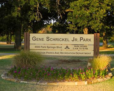 2011 Gene Schrickel Jr.  Park